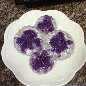 紫心水晶月饼