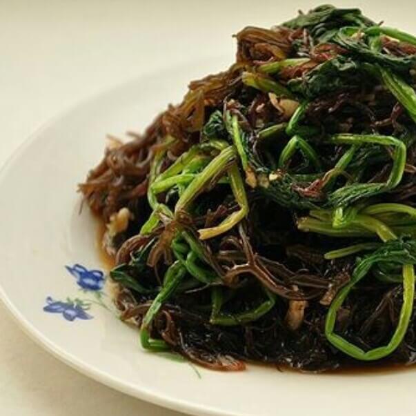 海菜遇见菠菜