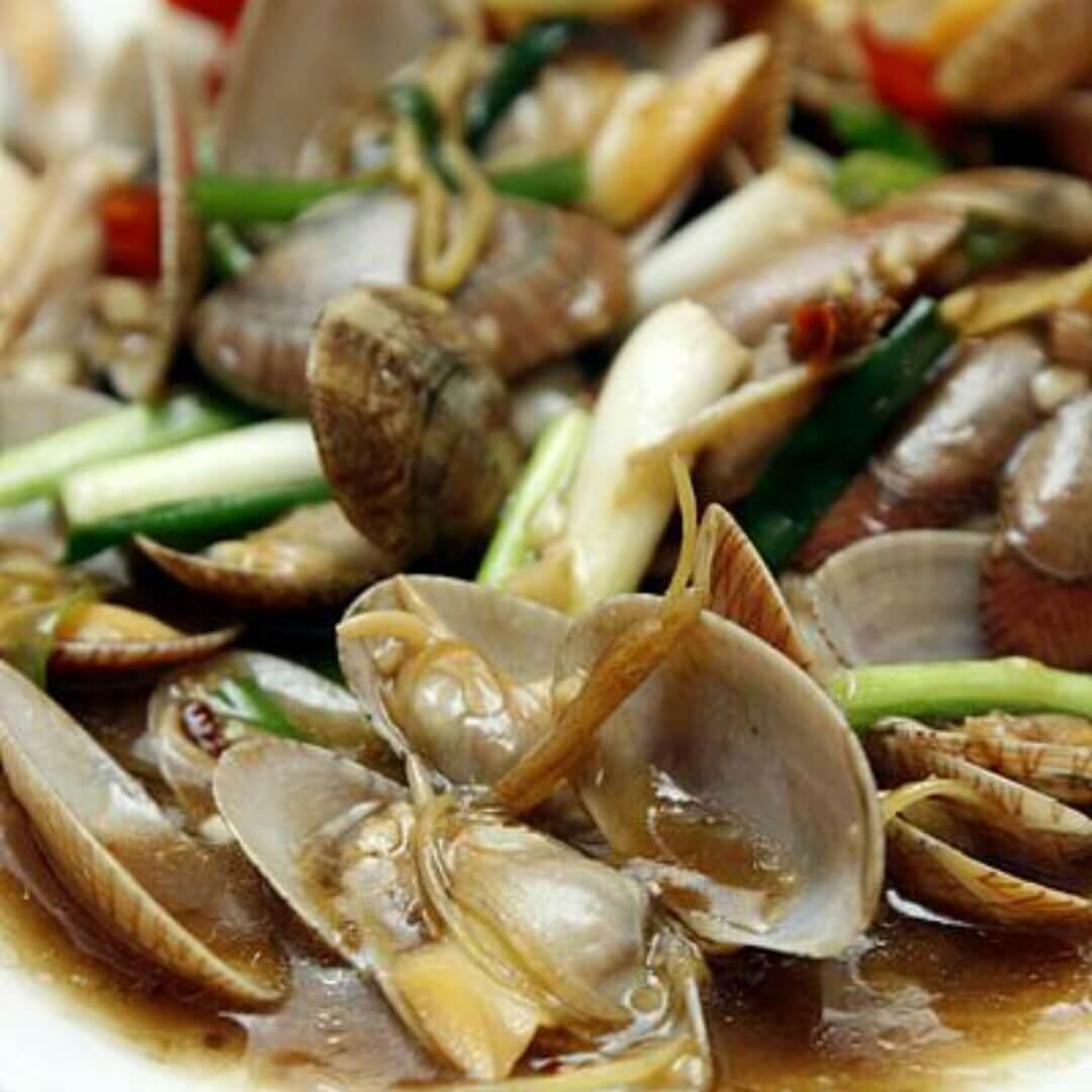 酱油水油蛤