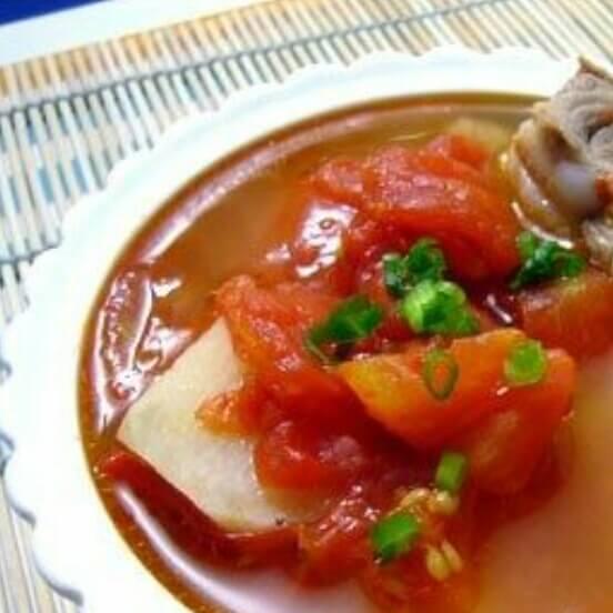 小排番茄浓汤