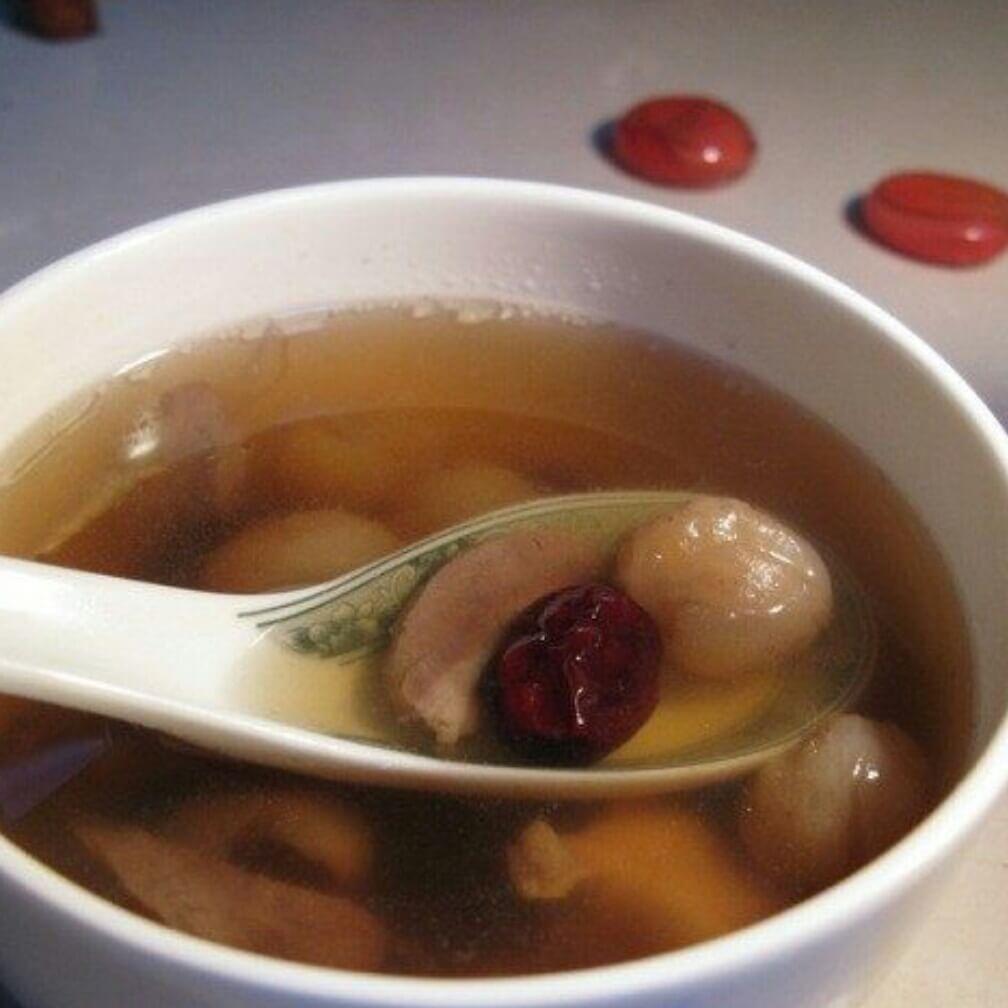 桂圆红枣猪心汤
