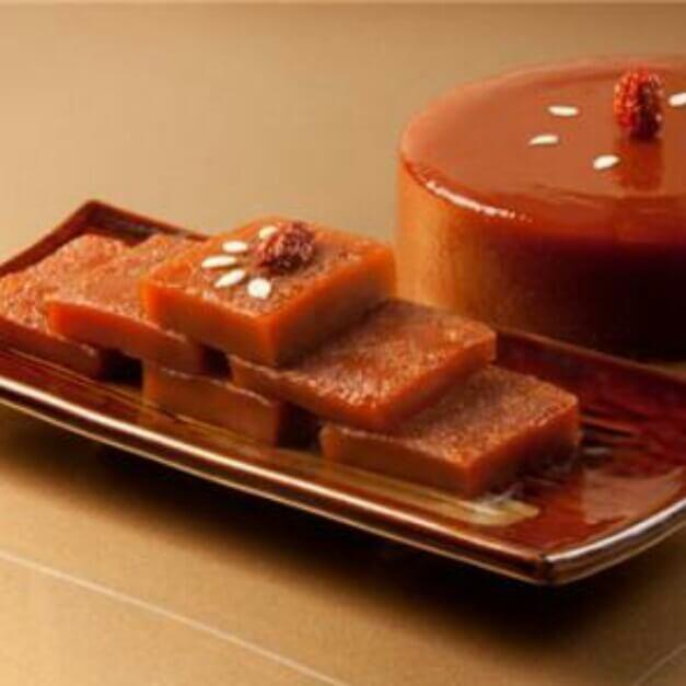 椰汁红糖年糕