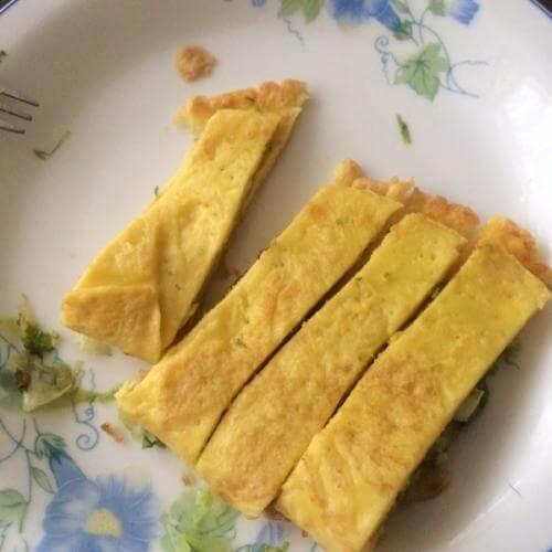 金黄鸡蛋摊饼子