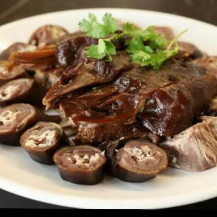 大盘卤水肉