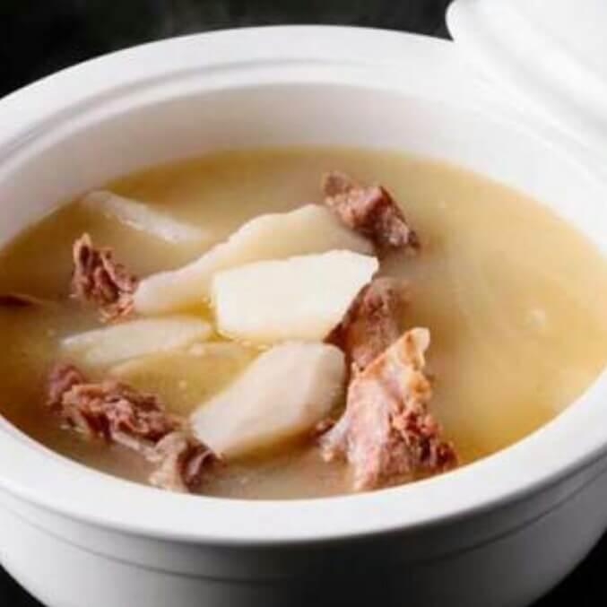 双菇龙骨汤