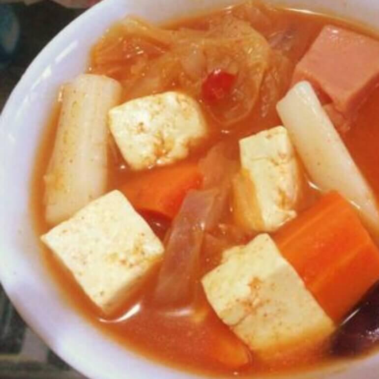 生拌韩国嫩豆腐