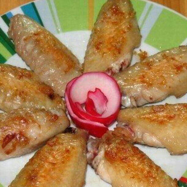 香煎沙姜鸡翅