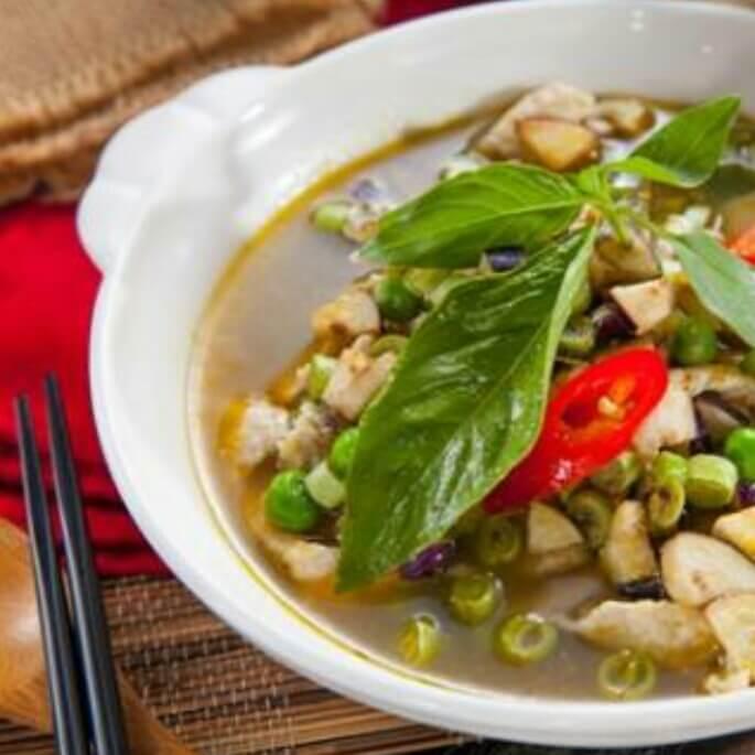 泰式酸辣鱼汤