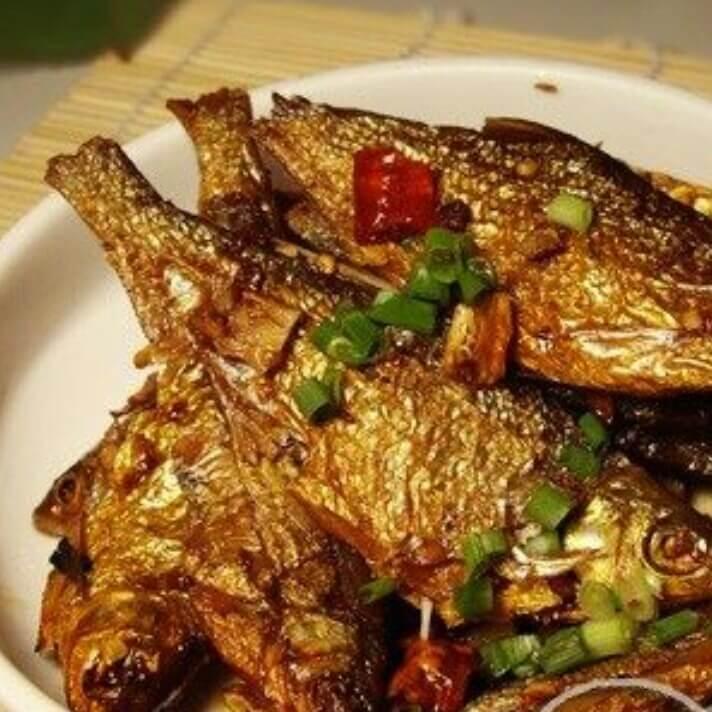 香辣火焙鱼