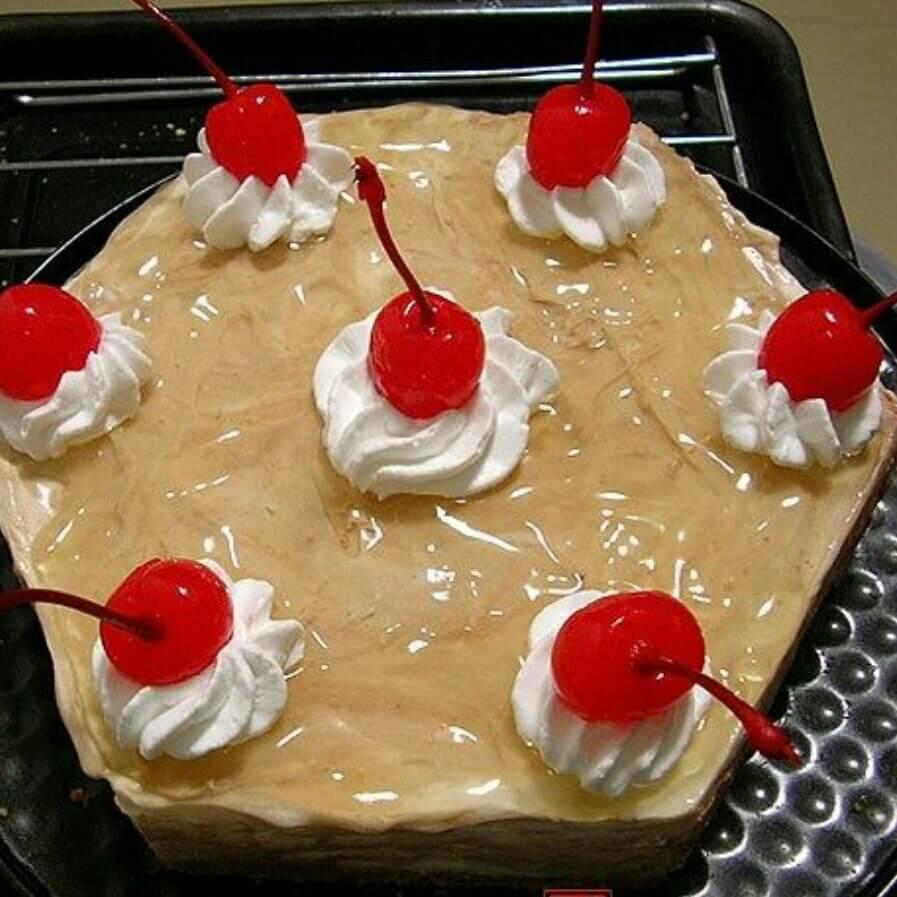 木纹冻芝士蛋糕