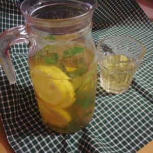 鲜薄荷柠檬茶