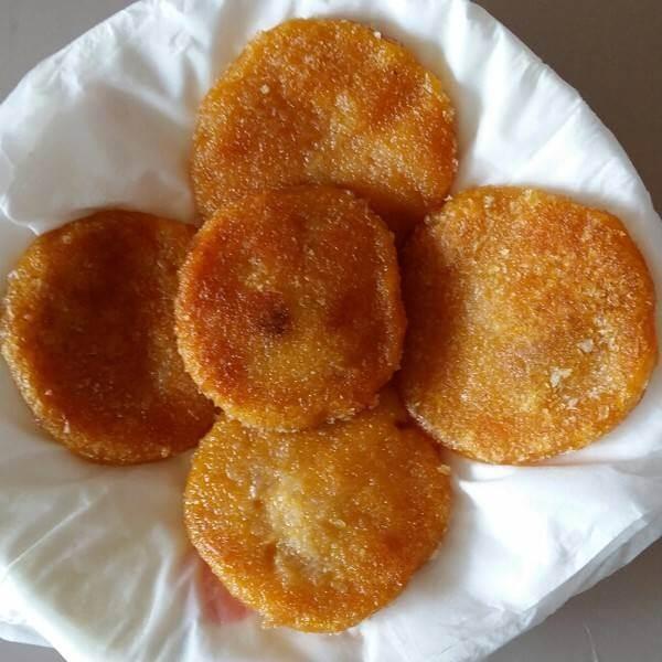 香煎南瓜米饼
