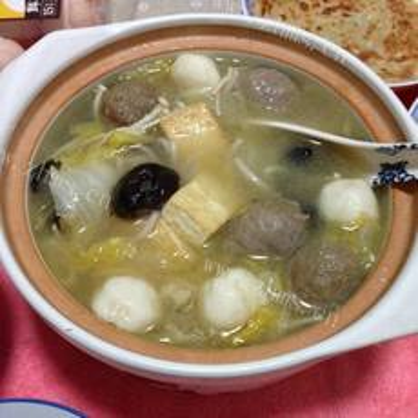 味噌炖杂菜汤