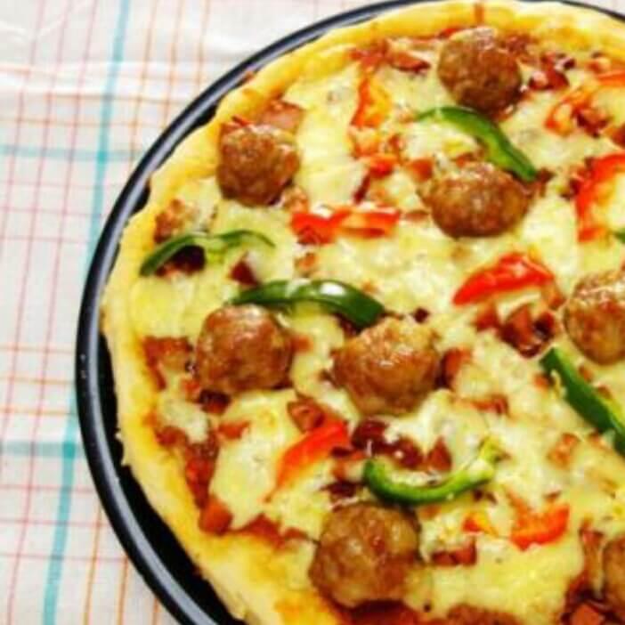 蛋炒饭味的比萨