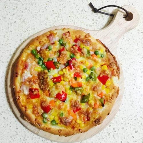 海鲜什锦披萨