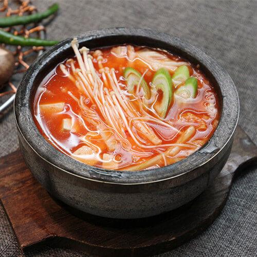 美味的韩国大酱汤