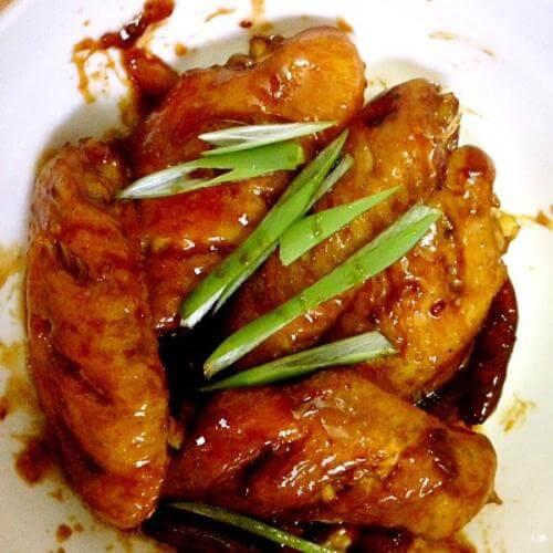 柠香可乐煎鸡翅