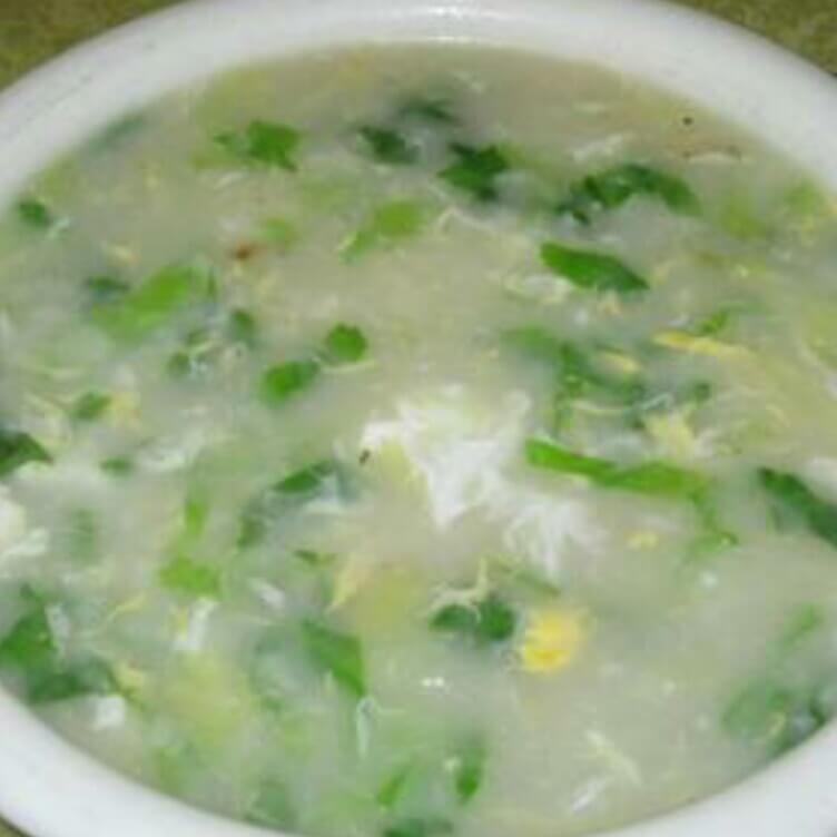 芹菜虾皮疙瘩汤