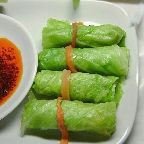双丝包菜卷