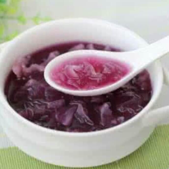 桂花紫薯粥