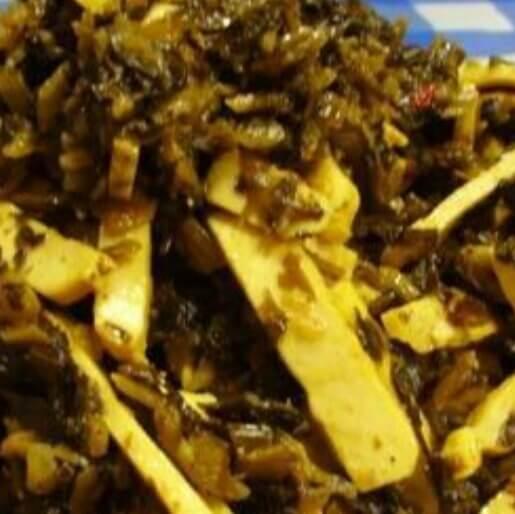 雪菜炒豆干
