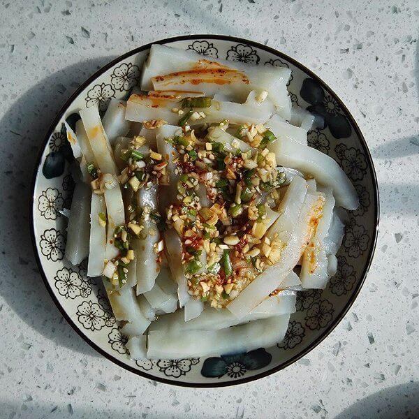 家常菜凉拌豆腐