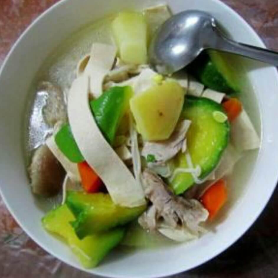 七叶瓜土豆汤