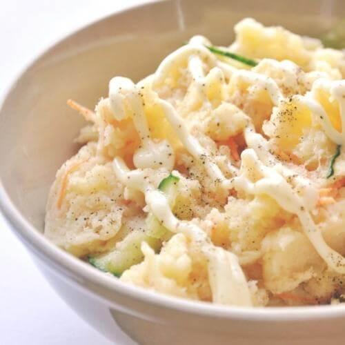 土豆金枪鱼沙拉