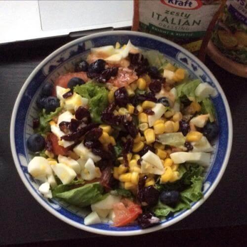 生菜玉米沙拉