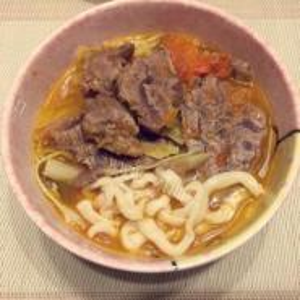 香草土豆煮牛肉