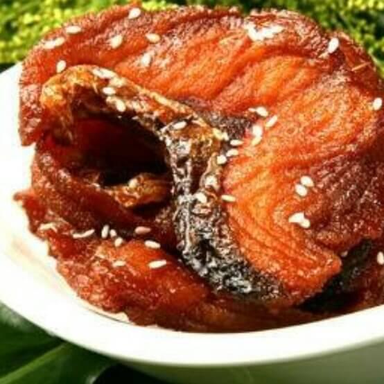 茶香米熏鱼