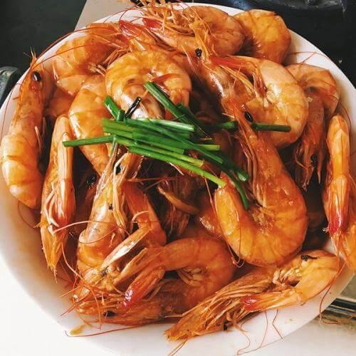 红烧罗氏虾