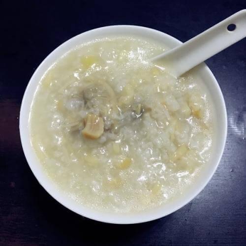 瑶柱虾米鸡丝粥