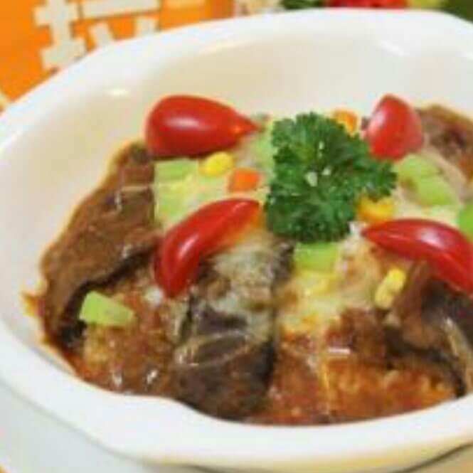 红酒牛肉蔬菜焗饭