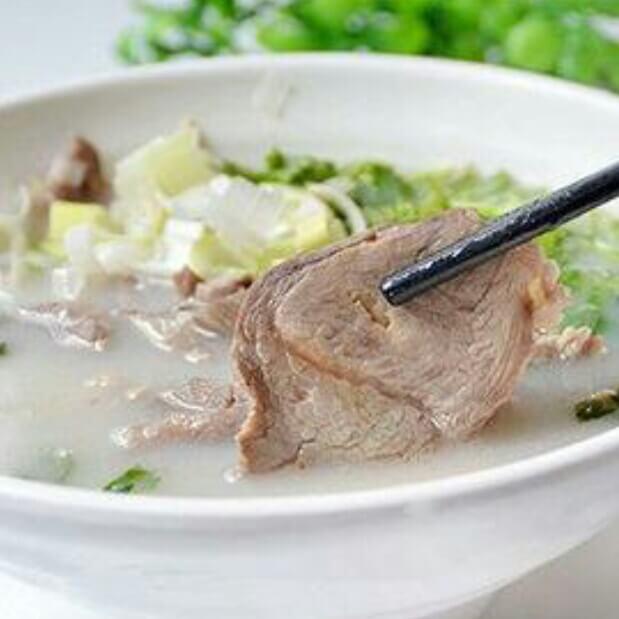 滋补萝卜丝羊肉清汤