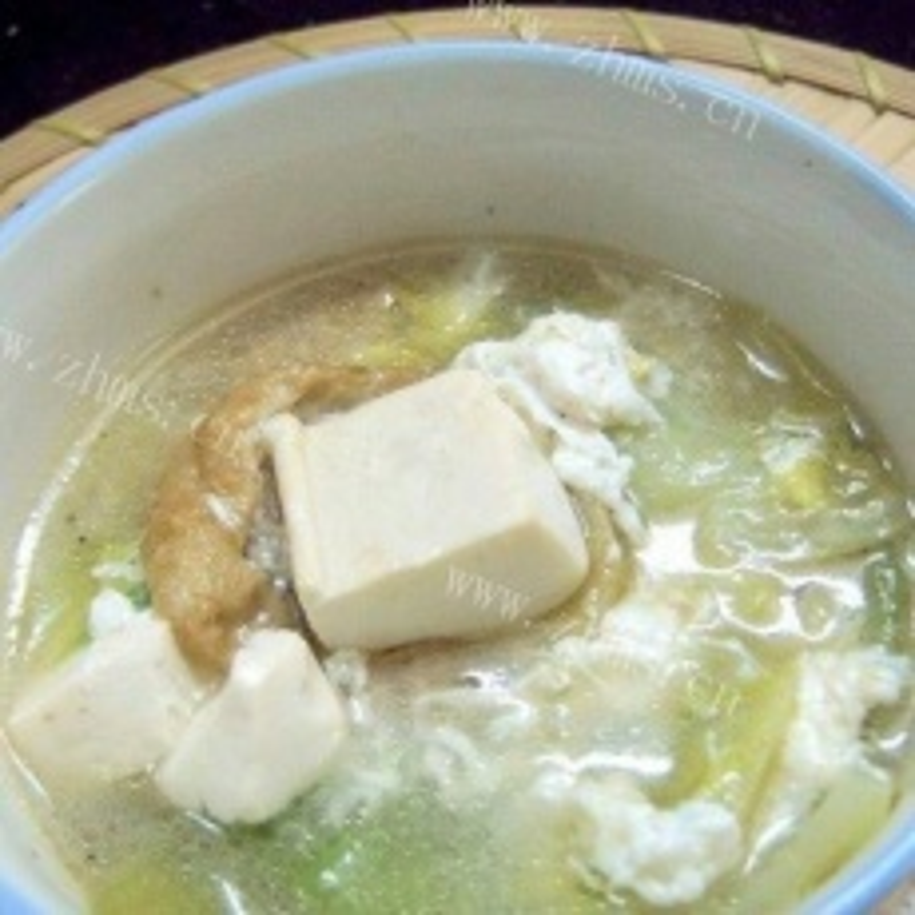 水冬芥菜滚豆腐