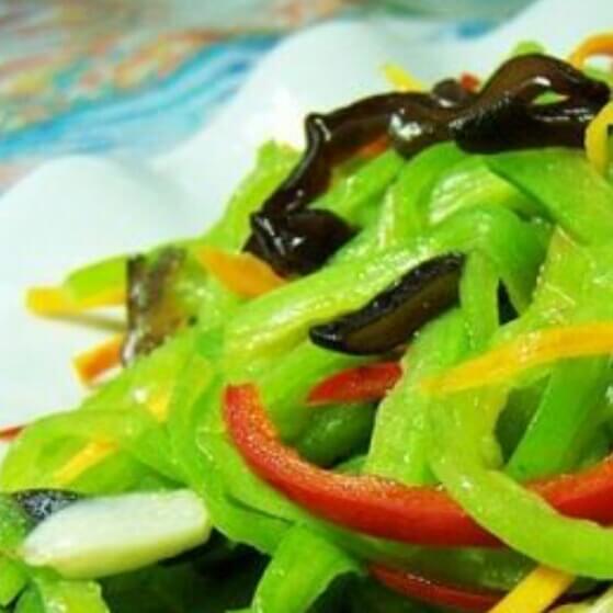 美味五彩蛇豆