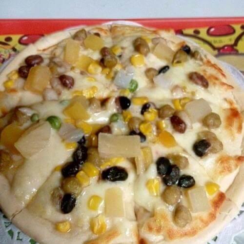 田园果蔬披萨