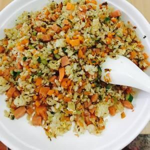 香草豉油蛋炒饭