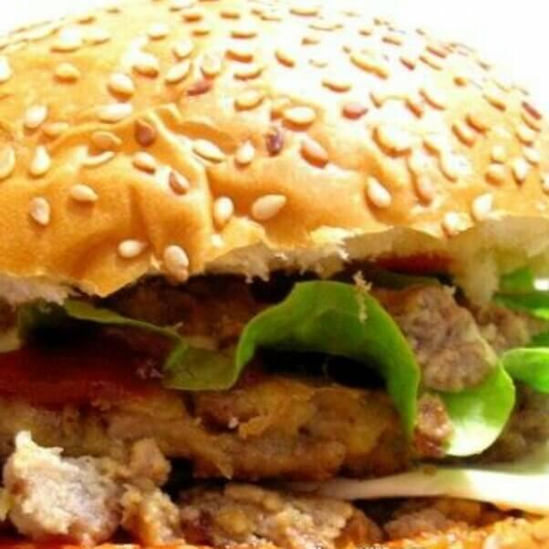 芝士牛排汉堡