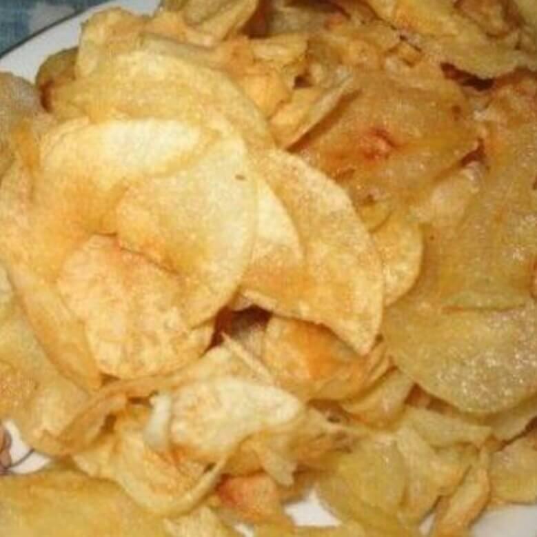 微波蒜香薯片