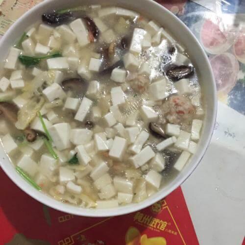 营养豆腐羹