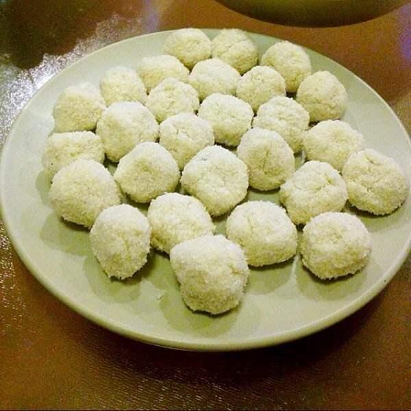 雪白椰子球