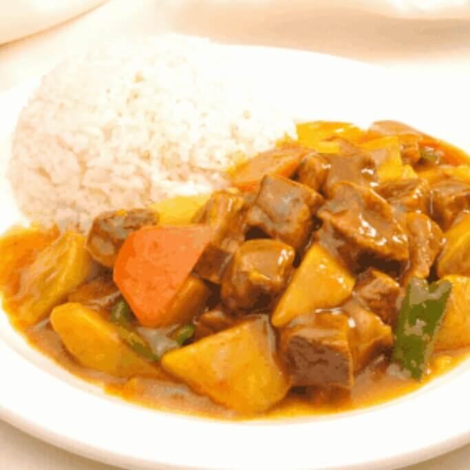 萝卜牛肉饭