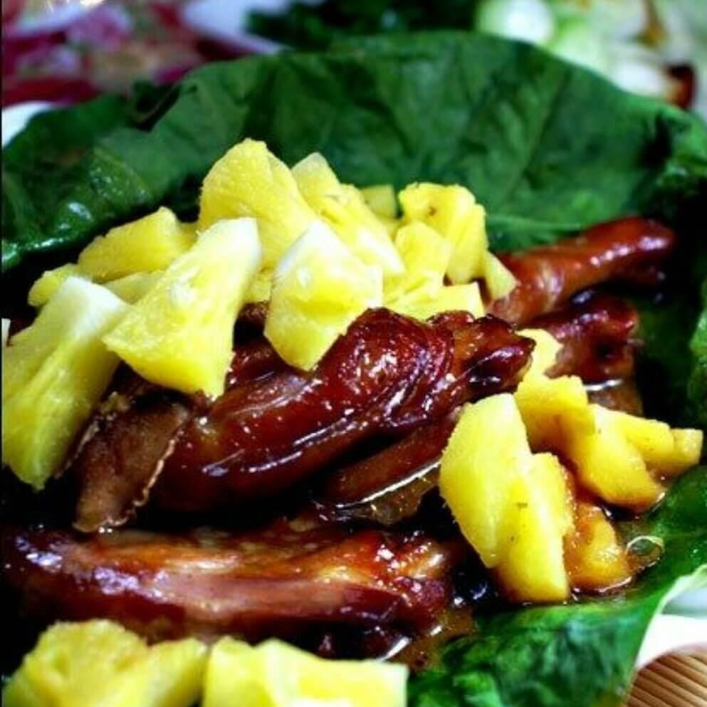 荷香菠萝翅