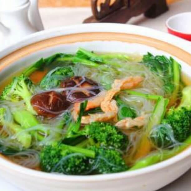 虾干土豆丝汤