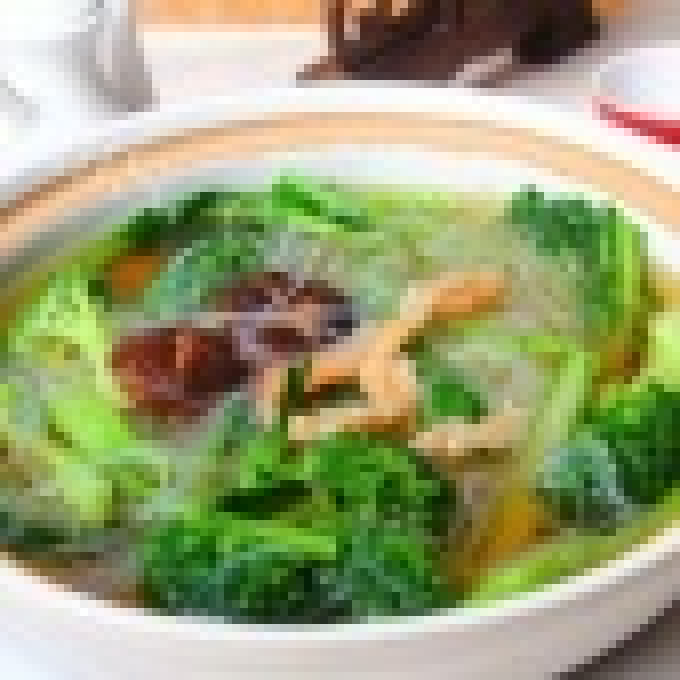营养的虾干土豆丝汤