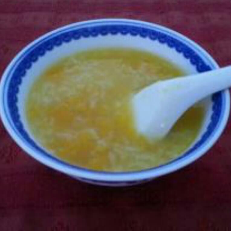 冰溏南瓜糯米粥