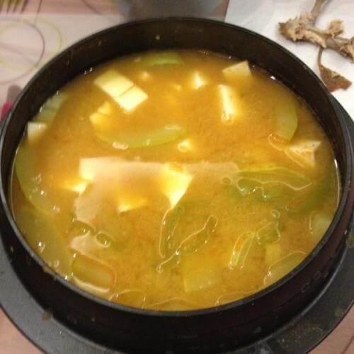 韩式泡菜大酱汤