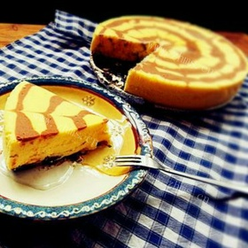 巧克力乳酪棕褐糕